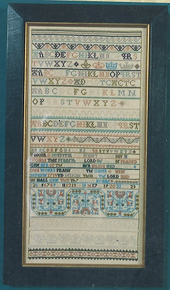 Ann Depauw KIT with floss/linen by The Scarlet Letter