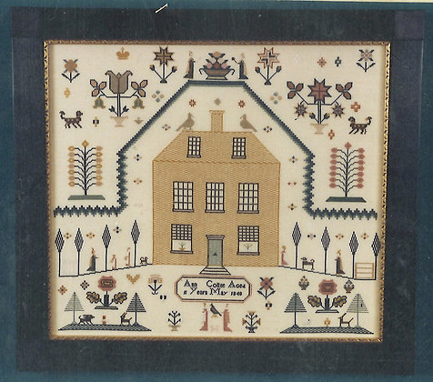 Ann Cottee 1848 KIT with DMC/LINEN The Scarlet Lette