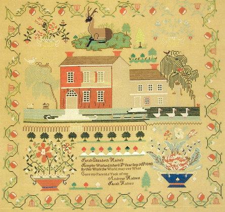 Sarah Haines Sampler by Queenstown Sampler Designs