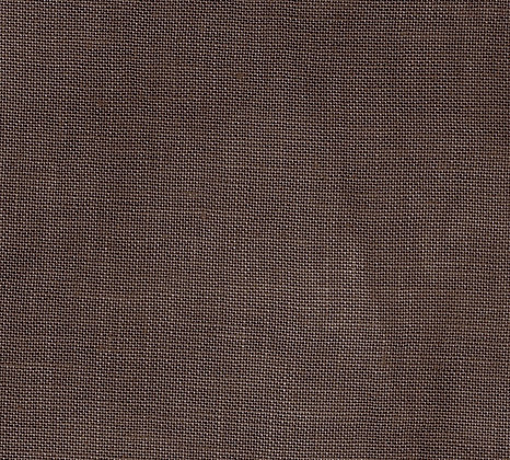 36 Count Dark Mocha Brown Fat Quarter Hand-Dyed Linen by xJudesign