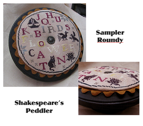 Sampler Roundy by Shakespeare's Peddler