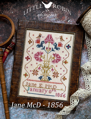 Jane McD 1856 by Little Robin Designs