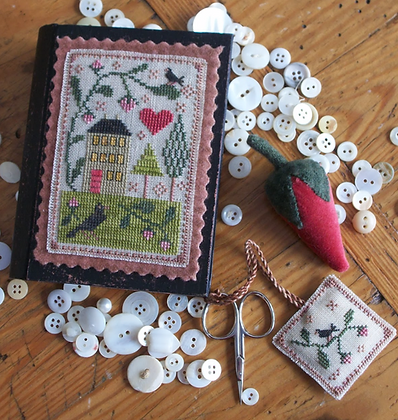 Berry House Stitch Book by Chessie & Me