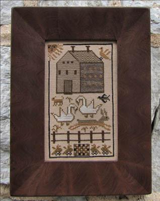 CATS A Fine Farm House by Kathy Barrick