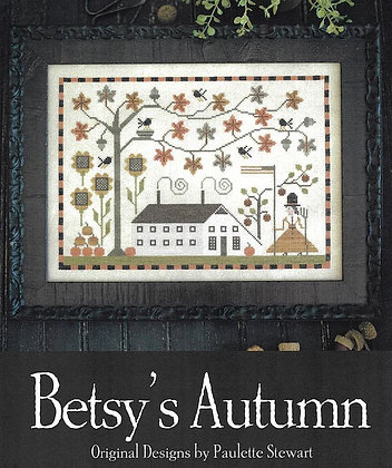 *Betsy's Autumn by Plum Street Samplers