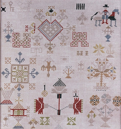 MA Dutch Sampler by Threads of Gold
