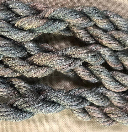 Alpine Taupe Gloriana 12-Strand Silk 6 Yards