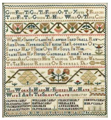The Frances Canby Sampler KIT by The Examplarery