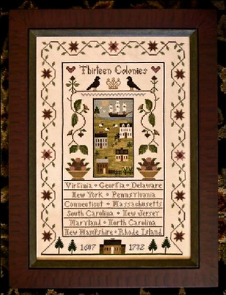 Thirteen Colonies by Little House Needleworks
