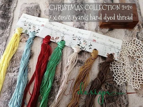 Christmas Collection Limited Edition Thread/Trim Pack by Xjudesigns