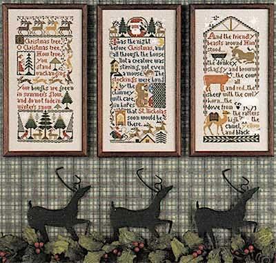 Christmas Samplers by The Prairie Schooler