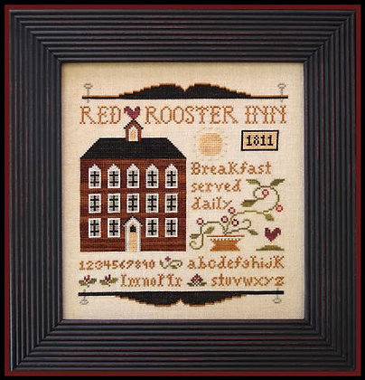 Red Rooster Inn by Little House Needleworks
