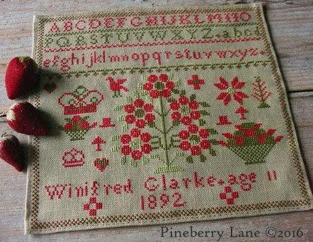 Winifred Glarke 1892 by Pineberry Lane
