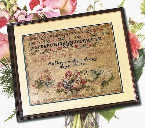 Catherine Armstrong 1856 by Cross Stitch Antiques