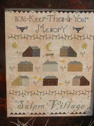 Salem Village Sampler by Notforgotten Farm