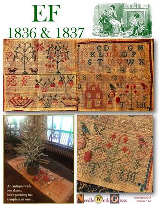 EF 1836 & 1837 by Needlework Press