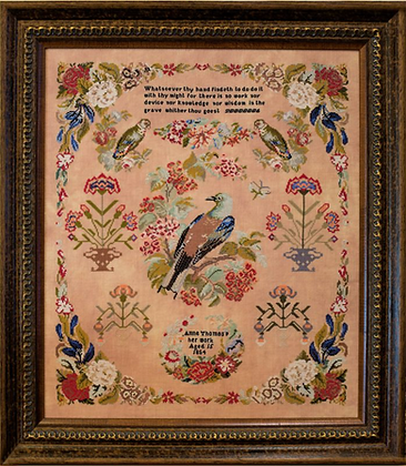 Anne Thomas 1854 by Hands Across the Sea Samplers
