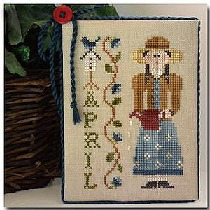 CATS April by Little House Needleworks