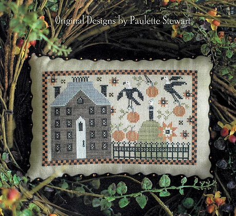 *Crone on the Hill by Plum Street Samplers