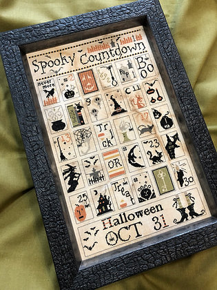 Spooky Countdown by The Primitive Hare