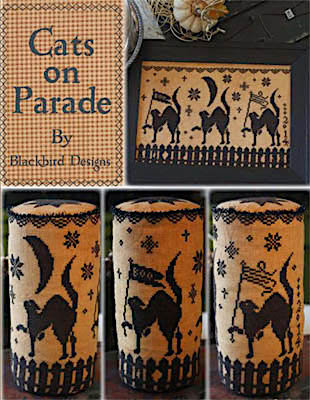 Cats on Parade by Blackbird Designs