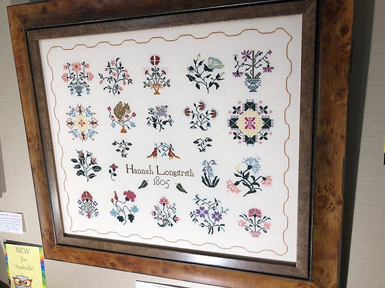 Hannah Longstreth by Queenstown Sampler Designs