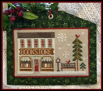 The Bookstore (Home Town Holiday) by Little House Needleworks/Cl