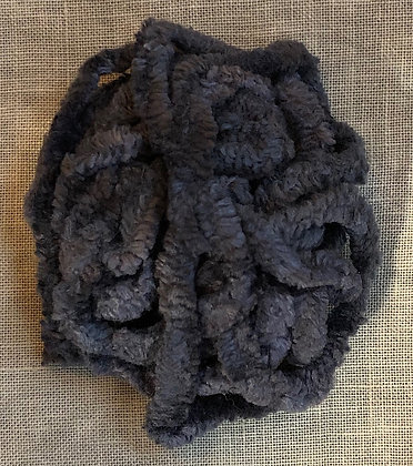 Licorice Hand-Dyed Chenille Trim 3-Yard Packet by Lady Dot Create