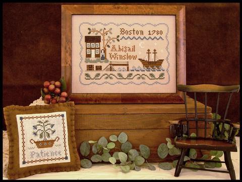 CATS Dear Diary: Abigail Winslow by Little House Needleworks