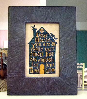 Dear House by Carriage House Samplings