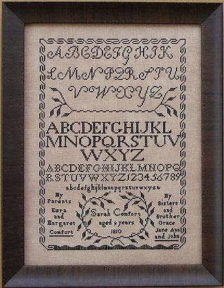 Sarah Comfort 1810 by Queenstown Sampler Designs