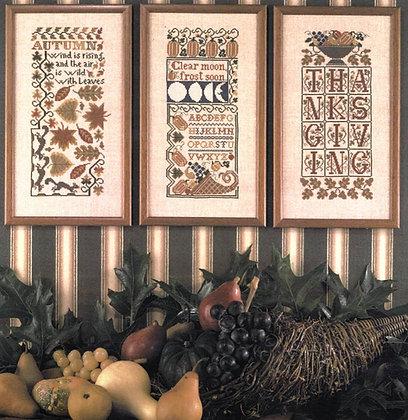 Autumn Samplers by The Prairie Schooler
