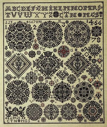 Museum Celle Sampler 1826 by Permin of Copenhagen
