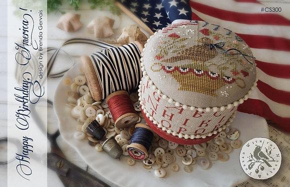 Happy Birthday, America by With Thy Needle & Thread
