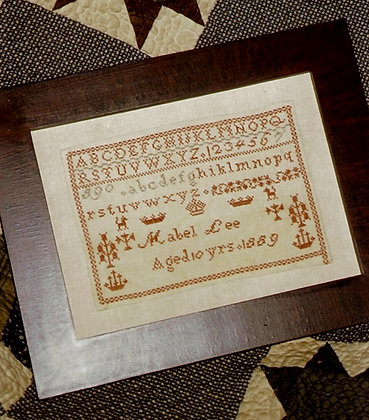 Mabel Lee's Reproduction Sampler by Chessie & Me
