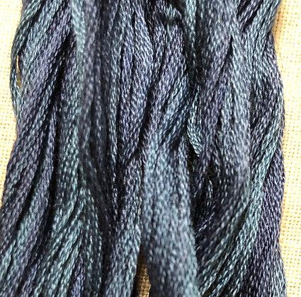 Wavy Navy Classic Colorworks Cotton Threads 5-yard Skein