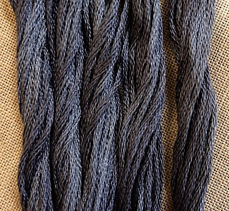 Zach Black Classic Colorworks Cotton Threads 5-yard Skein