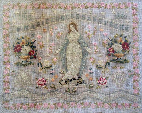 SILKS SET FOR O Marie by Reflets de Soie