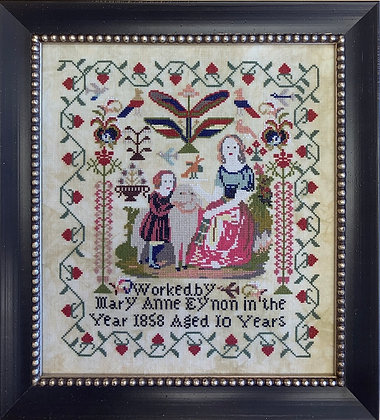Mary Anne Eynon 1858 by Needlework Press