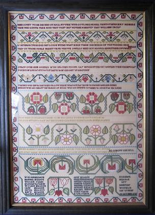 Elizabeth Hudson 1737 by The Scarlet Letter