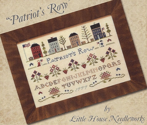 Patriot's Row by Little House Needleworks/Classic Colorworks