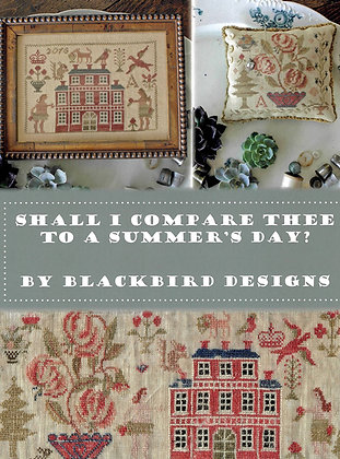 Shall I Compare Thee to a Summer's Day by Blackbird Designs