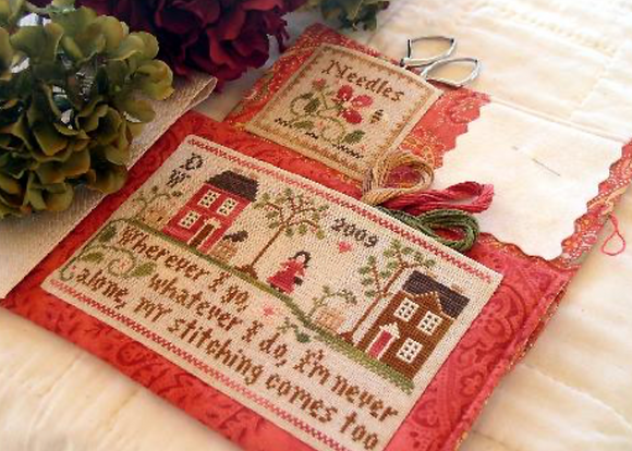 Traveling Stitcher by Little House Needleworks