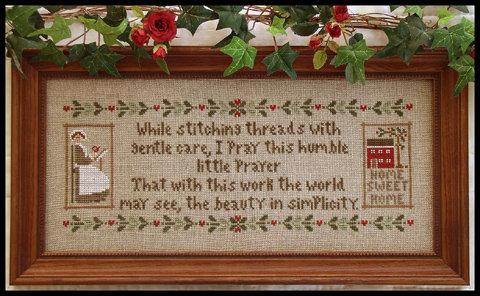 A Stitcher's Prayer by Little House Needleworks