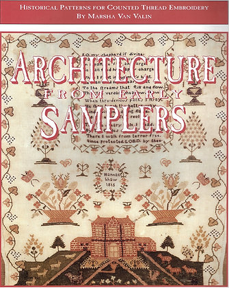 Architecture From Early Samplers by The Scarlet Letter