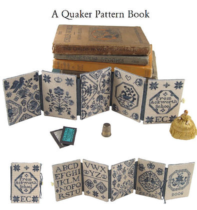 A Quaker Pattern Book by With My Needle