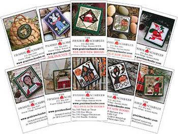 Mini Card Set F by The Prairie Schooler