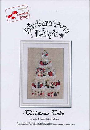Christmas Cake by Barbara Ana Designs