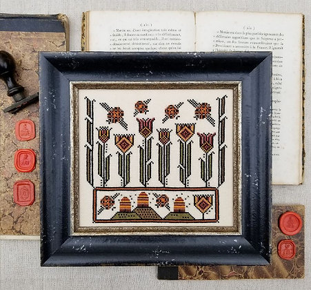 NASH-STASH Fraktur Bees by Hello from Liz Matthews