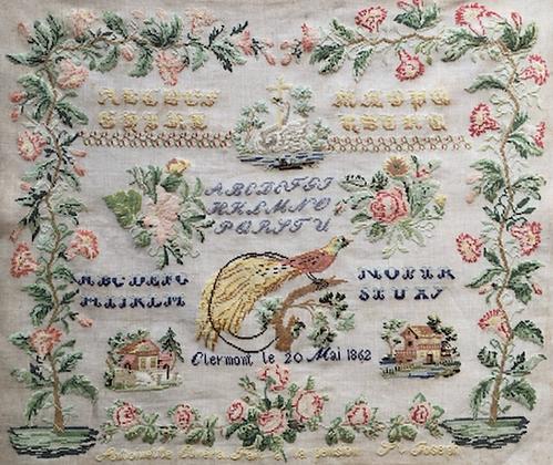 Antoinette Curera 1862 by Reflets de Soie